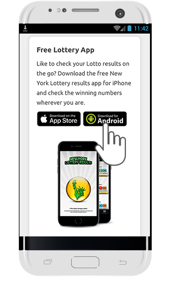 Android App for New York Lotto Results