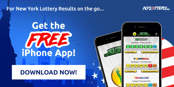 Get the FREE iPhone App for NY Lottery Results